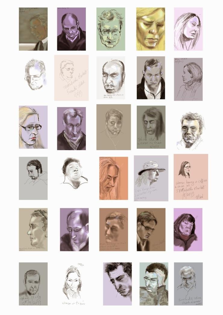 iPad Portraiture
